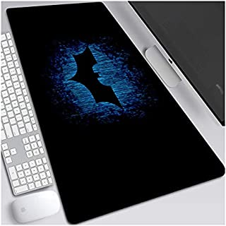 ITBT Dark Knight Alfombrilla Raton Anime Gaming Mouse Pad XL 700x300x3 mm,Impermeable con 3mm Base de Goma Antideslizante,Special-Textured Superficie para Ordenador, PC y Laptop,B