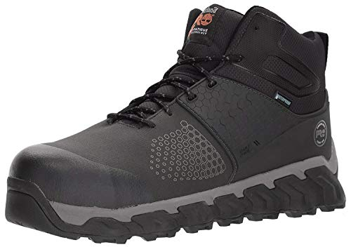 Timberland PRO Men's Ridgework Mid Industrial Boot, Black, 12 W US