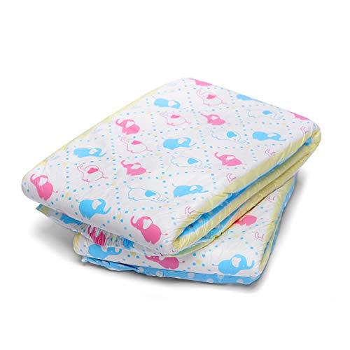 LittleForBig impresa adulto calzoncillos pañales adulto bebé amante del pañal ABDL 2 piezas-Poco Elefantito M