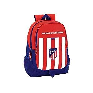 41unz0t54 L. SS300  - Safta Mochila Escolar Atlético De Madrid Oficial 320x160x440mm