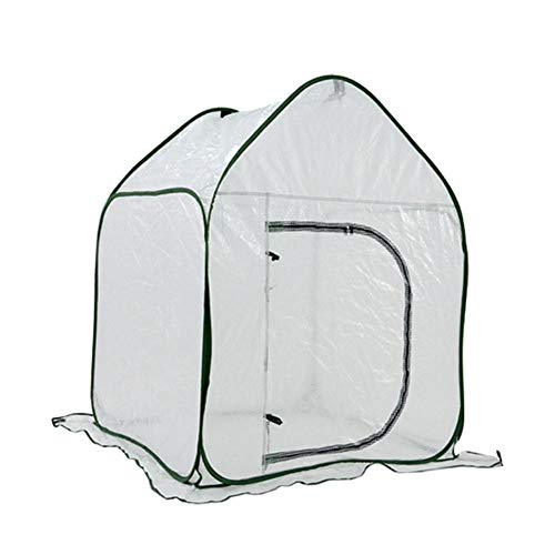 Dedeka Invernadero de Jardín, Plegable PE Clip Mesh Cloth House Estructura Invernadero...