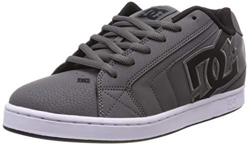 DC Shoes Net - Leather Shoes for Men - Schuhe - Männer - EU 40.5 - Grau