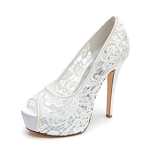 Zapatos de boda para novia Tacones altos Zapatos de novia Zapatos de...
