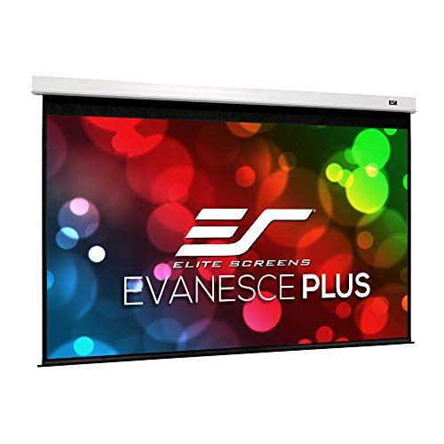Elite Screens Evanesce Plus, 200-inch 16:9, Large Venue In-Ceiling Electric Projection Projector Screen, IHome200HW2-E6