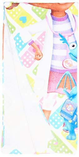 Plush Doctor WD51045 - Toalla Estampada de Playa de Terciopelo, Multicolor, 70 x 140 cm