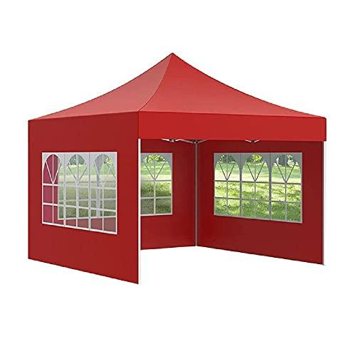 Granpay Panneaux Latéraux,Latéral de Bache pour Pergola 210D Exterieur Toile Tonnelle 3x2 m éTanche Rideau pour Pergola Jardin d'Oxford Camping Rideaux avec Fenêtres