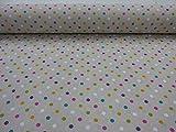 GADETEX Telas por metro loneta (Lacacintos Multicolor, 0,50 x 2,80 m)