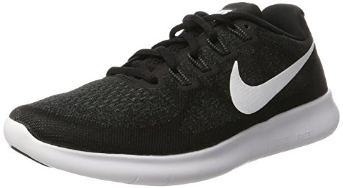Nike Men's Free RN 2017 Running Shoe Black/White/Dark Grey/Anthracite Size 13 M US