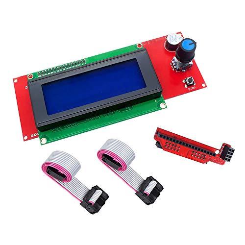 ZkeeShop 2004 LCD Smart Display Controller Module Compatible for 3D Printer Controller RAMPS 1.4 Arduino Mega Arduino RepRap