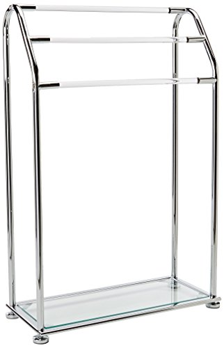 Neu Home Freestanding Acrylic Towel Rack