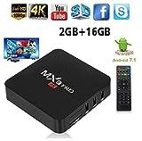 ZAMPEQ MXQ Pro 4K Android TV Box with 2GB RAM/16GB ROM 64Bit Quad