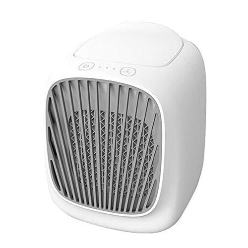 Elektrische ventilator, nieuw mini-USB-luchtkoeler voor huishoudelijke mini koelen van mobiele mobiele airconditioner bevochtigingswater koelventilator