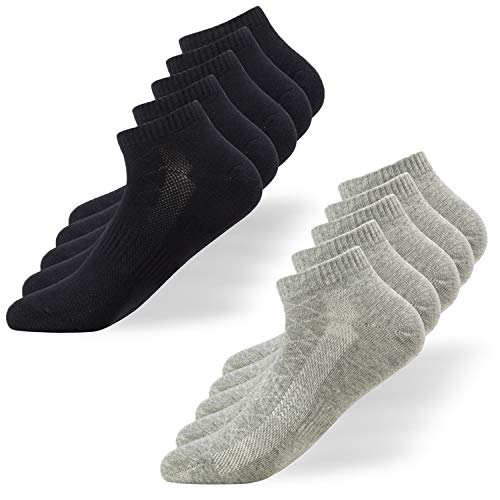 Falechay Calcetines Tobilleros Hombre Mujer 10 Pares