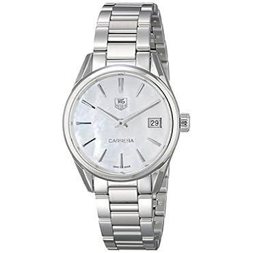TAG Heuer Women's WAR1311.BA0778 Analog Display Silver-Tone Watch