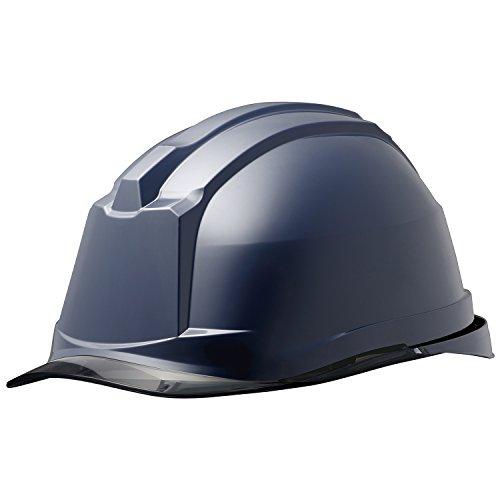 ミドリ安全 ヘルメット クリアバイザー SC-19PCL RA3 α ネイビー スモーク