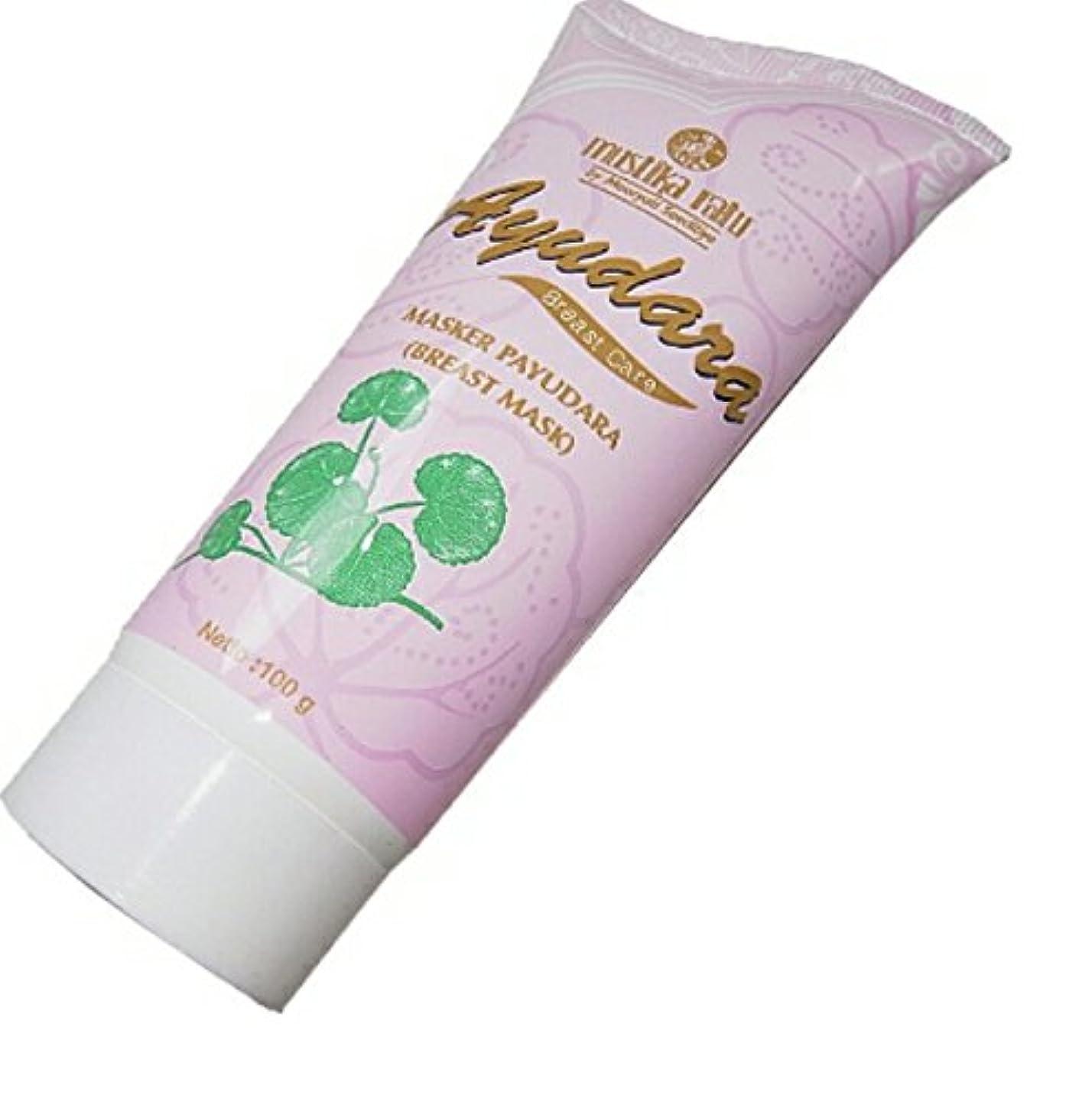楽しい水星無許可Mustika ratu Ayu Dara ムスティカラトゥayudara乳房マスクオーガニック100grは美しい、より高密度の美乳になり