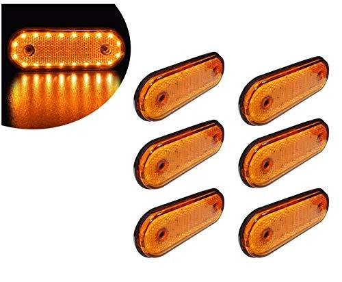 flexzon L0051 ORANGE LED Arancione Ambra Luci 30/Pezzi