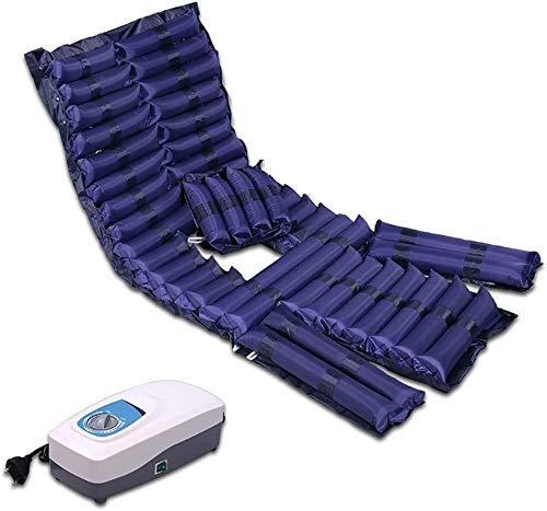 Möbeldekoration Erweiterungssteuerung Matratzenauflage mit Pumpe Anti-Dekubitus-Luftmatratze Air Topper-Auflage für Bett Wunddruck Alternierende Matratzenauflage - Aufblasbare Bettluftauflage mit l