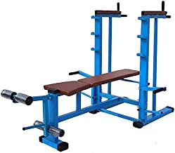 Produman Hub Weight Lifting Multi Purpose Adjustable Multi Capacity Utility Exercise Bench for Weight Strength Training 20 in 1 Bench- Exercise -79