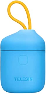 TELESIN allinbox Baterías para la cámara NP-FW50 Juego de Cargador para la batería Sony A6000 A6500 A6300 A7 A7II A7RII A7SII A7S A7S2 A7R A7R2 A55 A5100 (Cargador allinbox Azul)