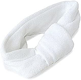 Spa Sister White Terry Knot Spa Hairband