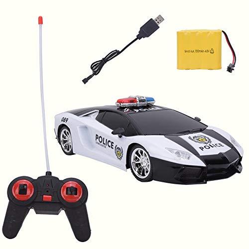 Deryang Modellauto, Rettungs-Rettungswagen, Hochgeschwindigkeits-4,8-V-700-mAh-Kunststoff für Jungen, Jugendliche, Erwachsene