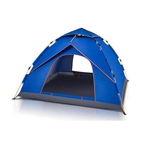 RYP Tentes de Pique-Nique de Camping automatiques extérieures de Guo Outdoor Products, tentes imperméables Respirables de Camping, Tissu imperméable de Oxford, tentes portatives à la Maison,2-3 Perso