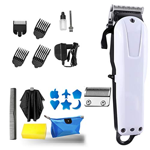 LKJHG Best Electric Mens Hair Clipper Trimmer,Retro Oil Head Electric Clipper,Rechargeable Electric Clipper Barber Shop Professional