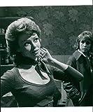 British actress Gabrielle Drake as Kate Harvey in TV series