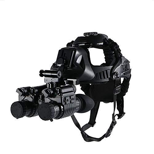 AUNLPB Visión Nocturna telescopio Binocular, el Telescopio Infrarrojo Tipo Casco con función de grabación para la Caza y la observación de Seguimiento de la Seguridad de la Fauna