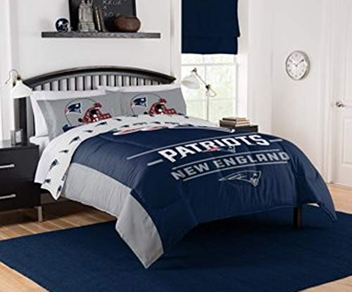 "NFL Patriots ""Monument"" Full/Queen Comforter #318934799"