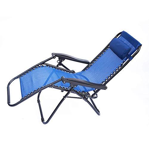 FVGBHN Tumbona Cómoda, Plegable Y Ajustable, para Uso En Exteriores, Camping, Playa