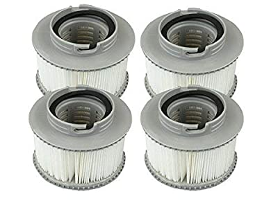 pool spa part Cheapest Genuine MSPA Hot Tub Filter Cartridges 2 Pairs (4 Filters)