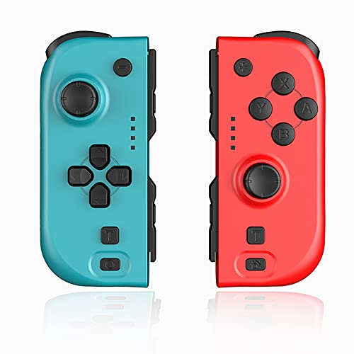 Joy Con Controller Compatible with Nintendo Switch, Wireless Controllers...