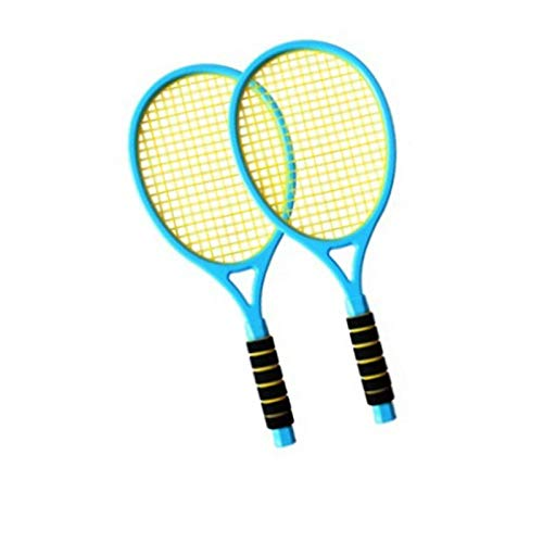 xiaoxioaguo Juego de bádminton para niños, 2 raquetas de tenis para adolescentes