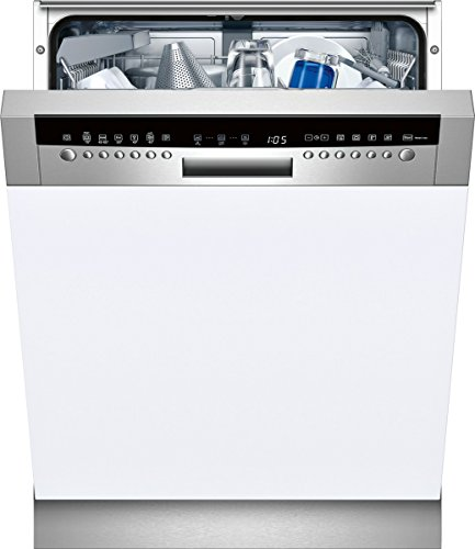 Neff S41P65N0EU Integrabile 13coperti A+ Acciaio inossidabile, Bianco lavastoviglie