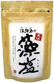 美味 淡路島の藻塩(茶) 120g