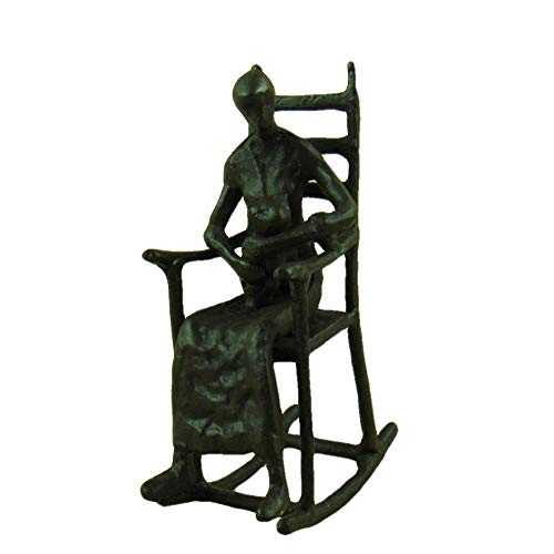 QIBAJIU Decorativi Statue Piccola Statua Figura Fatta A Mano Statua Pet Cat Miniatura Decorazione Domestica Accessori per Abbellimenti