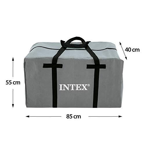 Intex Unisex– Erwachsene Schlauchboot Boot Mariner 4 Set Phthalates Free Inkl. Paddel und Luftpumpe-Professional Series, Grau, 328 x 145 x 48 cm (L x B x H) - 10