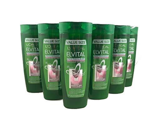 Elvital Planta Phytoclear Anti-Schuppen Shampoo, für normales Haar, 6er Pack (6 x 400 ml)