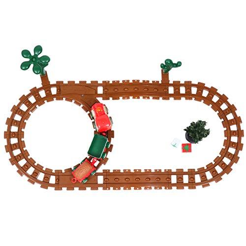 TOYANDONA 1 Juego de Tren Eléctrico Tren de Navidad para Niños Cumpleaños...
