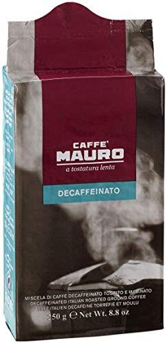 Caffè Mauro   Decaffeinato   Macinato per moka   2kg in 8 pacchi da 250g