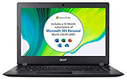 IDEAL EVERYDAY LAPTOP: With a speedy Intel Celeron CPU and 4GB of RAM, you can easily handle day-to-day tasks such as working from home or remote learning MICROSOFT 365: You get a 12 month Microsoft 365 subscription included in the price, giving you ...