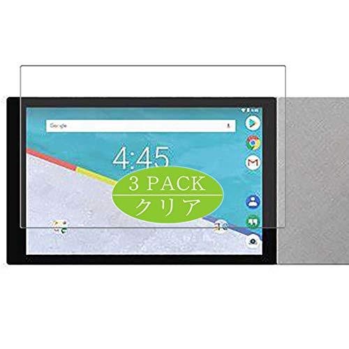 VacFun 3 Piezas HD Claro Protector de Pantalla Compatible con Archos Hello 10 Inch, Screen Protector Sin Burbujas Película Protectora (Not Cristal Templado) New Version