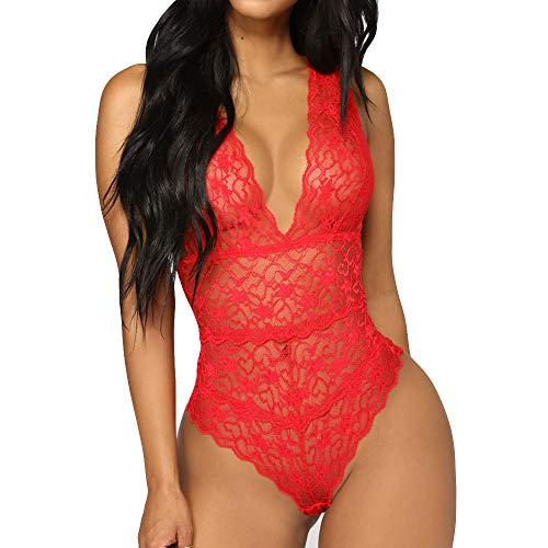 QQQQC Mujer Sexy Color Negligee con Liguero Muy Sensual Lenceria para...