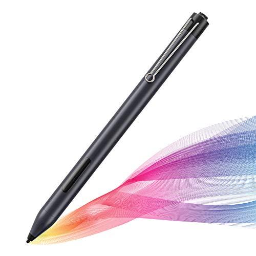 MPIO Stylus Pen Kompatibel mit Surface, Stift mit Palm Rejection &Druckempfindlichkeit, 600h Arbeitszeit für Surface Pro 3/4/5/6/7/X/Go/Laptop/Studio/Book und mehr (mit AAAA-Batterie)