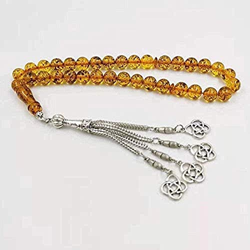 huangxuanchen co.,ltd Necklace Fragrance Resin 33 Beads Ramadan Gift for Eid Muslim Rosary Islamic Bracelet Accessories