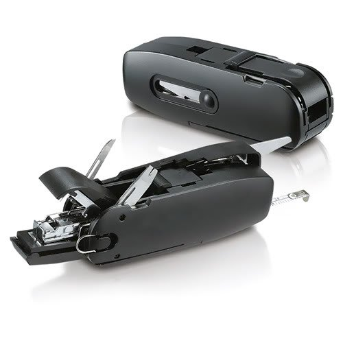 Unique Gadget 10 in 1 Combo of Offices Toolkit Scissors Measuring Tape Stapler Opener Punch Ruler