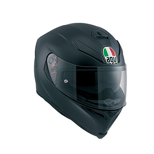 AGV 0041A4HY_003_MS K-5 S E2205 Solid Helm, Matt Black, Größe MS