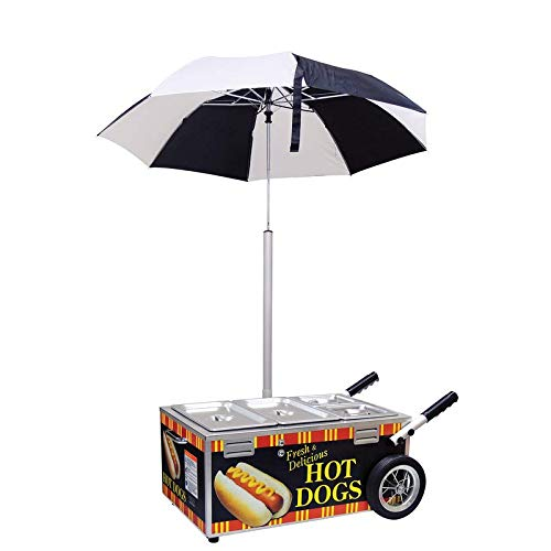 Learn More About Hot Dog Streamer Cart Go Anywhere Merchandiser